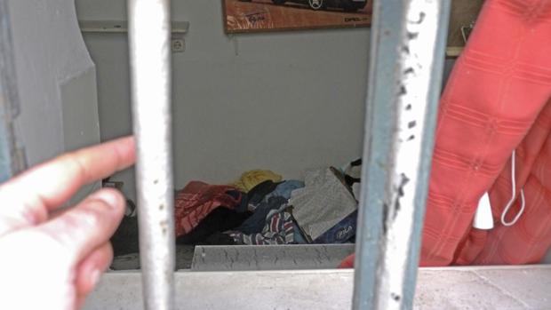 Interior de la vivienda en la que ha tenido lugar el crimen.