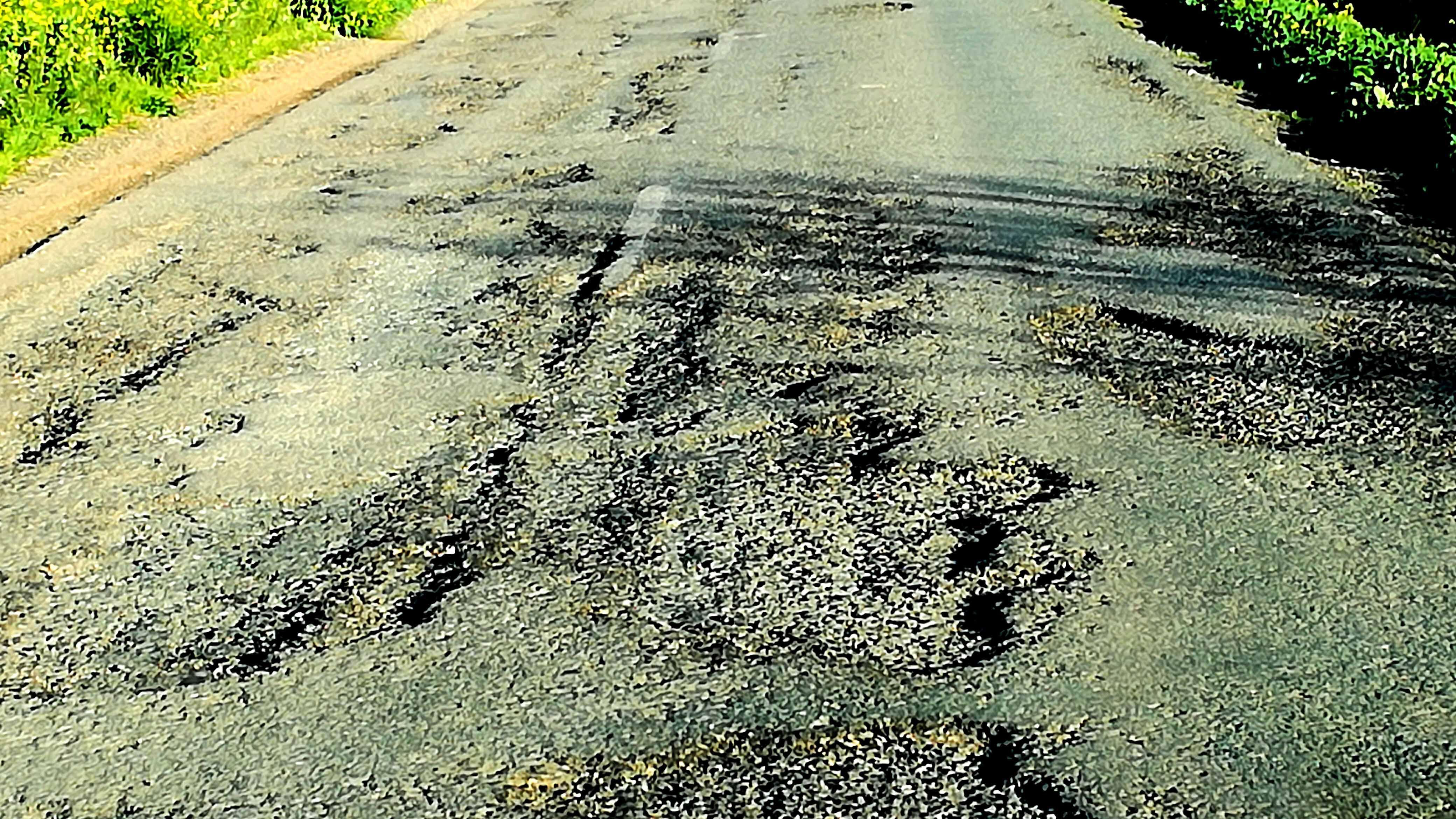 La carretera de Trajano se encuentra en la actualidad en un estado lamentable