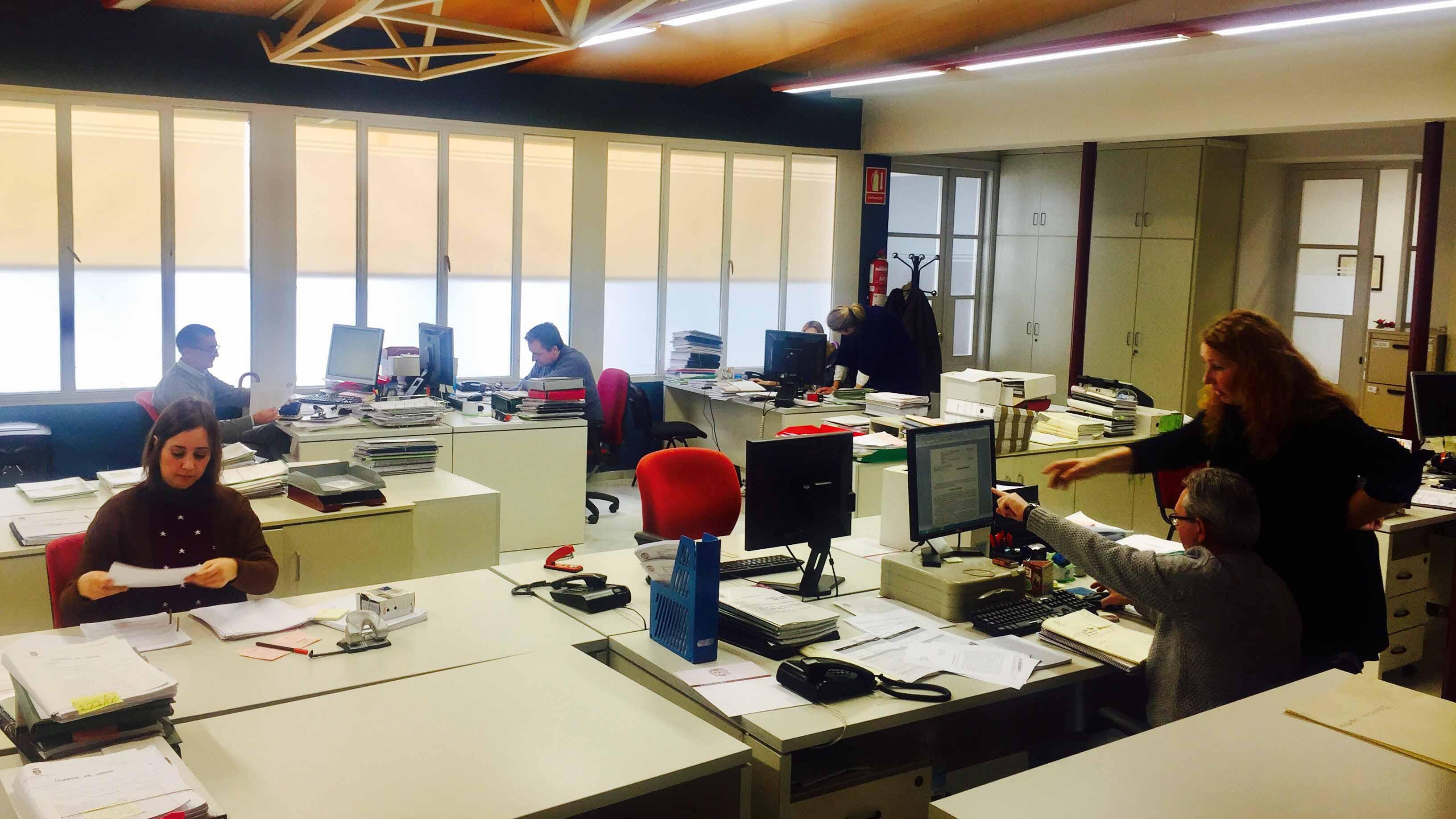 Las instalaciones de la delegación municipal de Urbanismo de Utrera