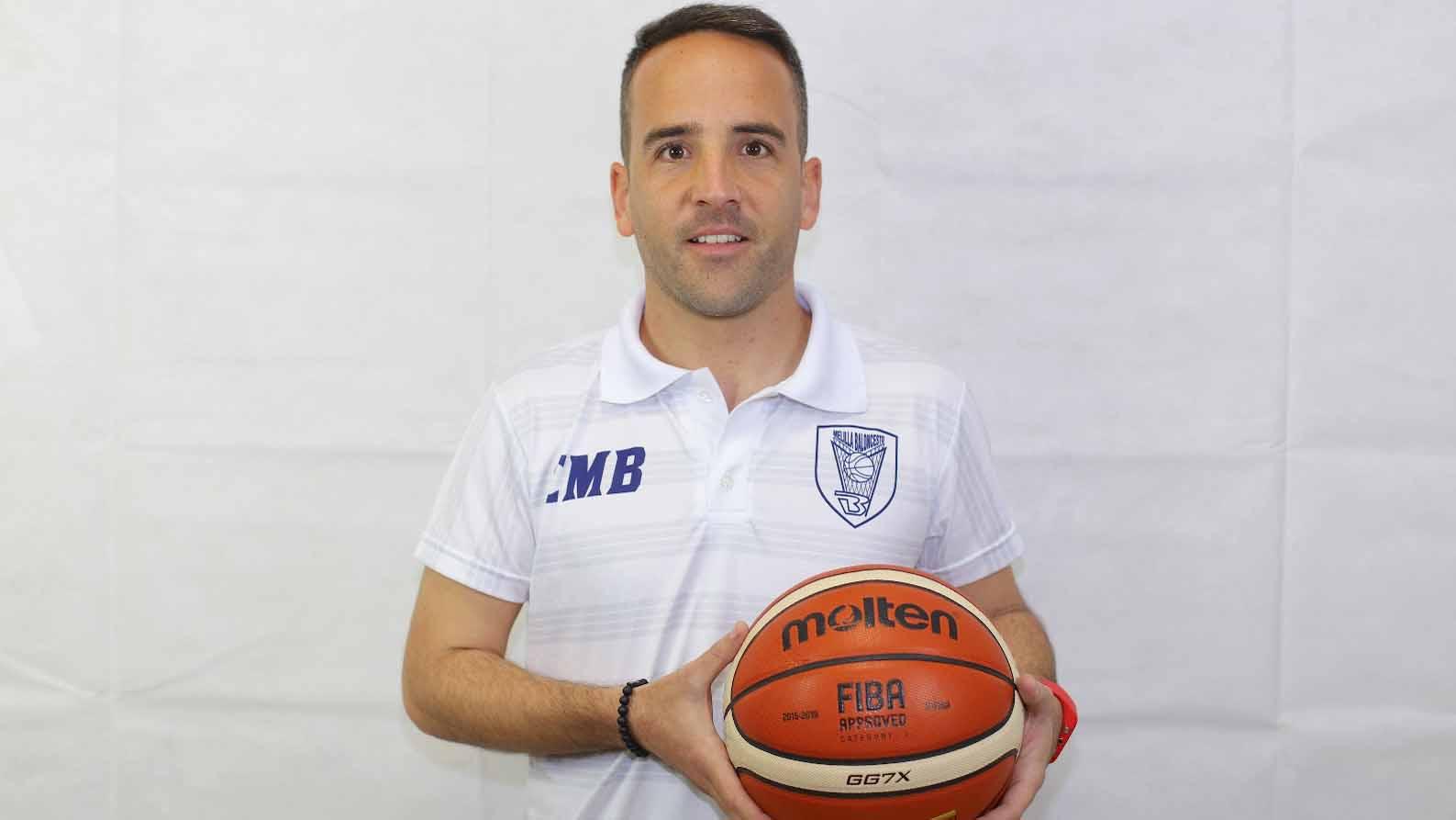 Eloy Ramírez es el entrenador asistente del Club Melilla Baloncesto