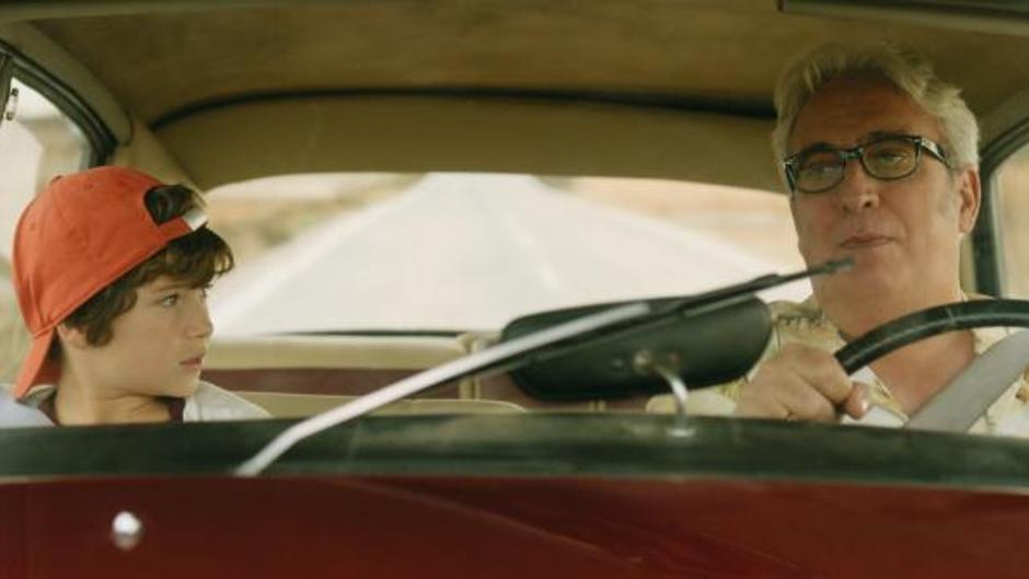 Leo Harlem interpreta al cabeza de familia de la película