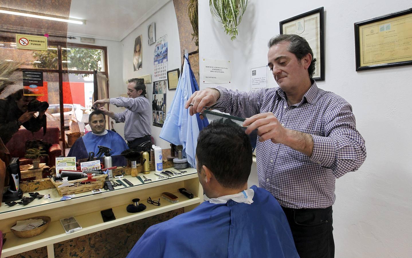 Un peluquero a domicilio