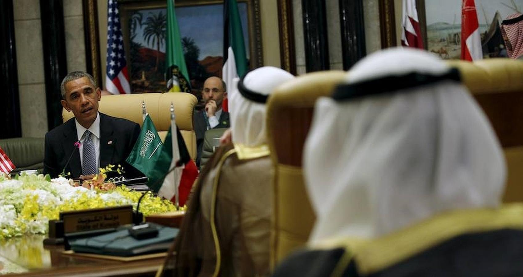 En la cumbre en Riad, Obama ha reiterado el compromiso de Washington en la defensa de sus aliados