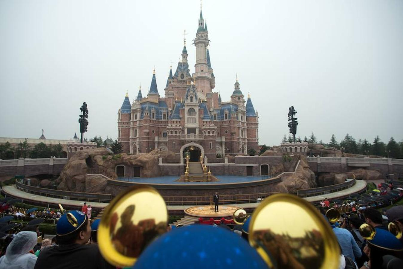 El castillo más alto de Disney