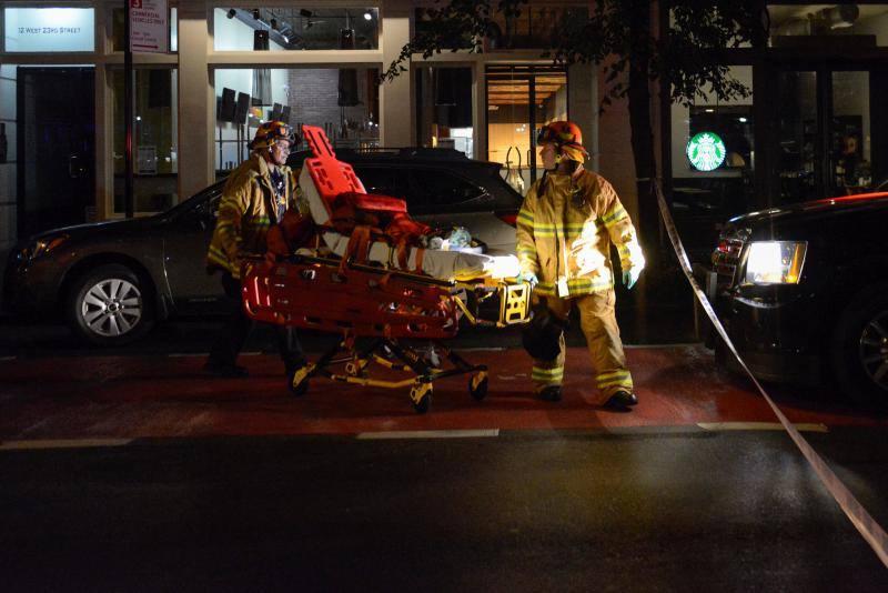 La Policía investiga la autoría de la explosión que causó 29 heridos en el barrio de Chelsea poco antes de la llegada de los líderes mundiales