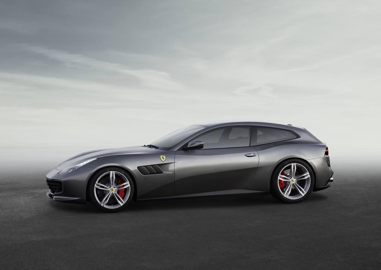 El Ferrari GTC4Lusso T, con 610 caballos, hará su debut en el Salón del Automóvil de París