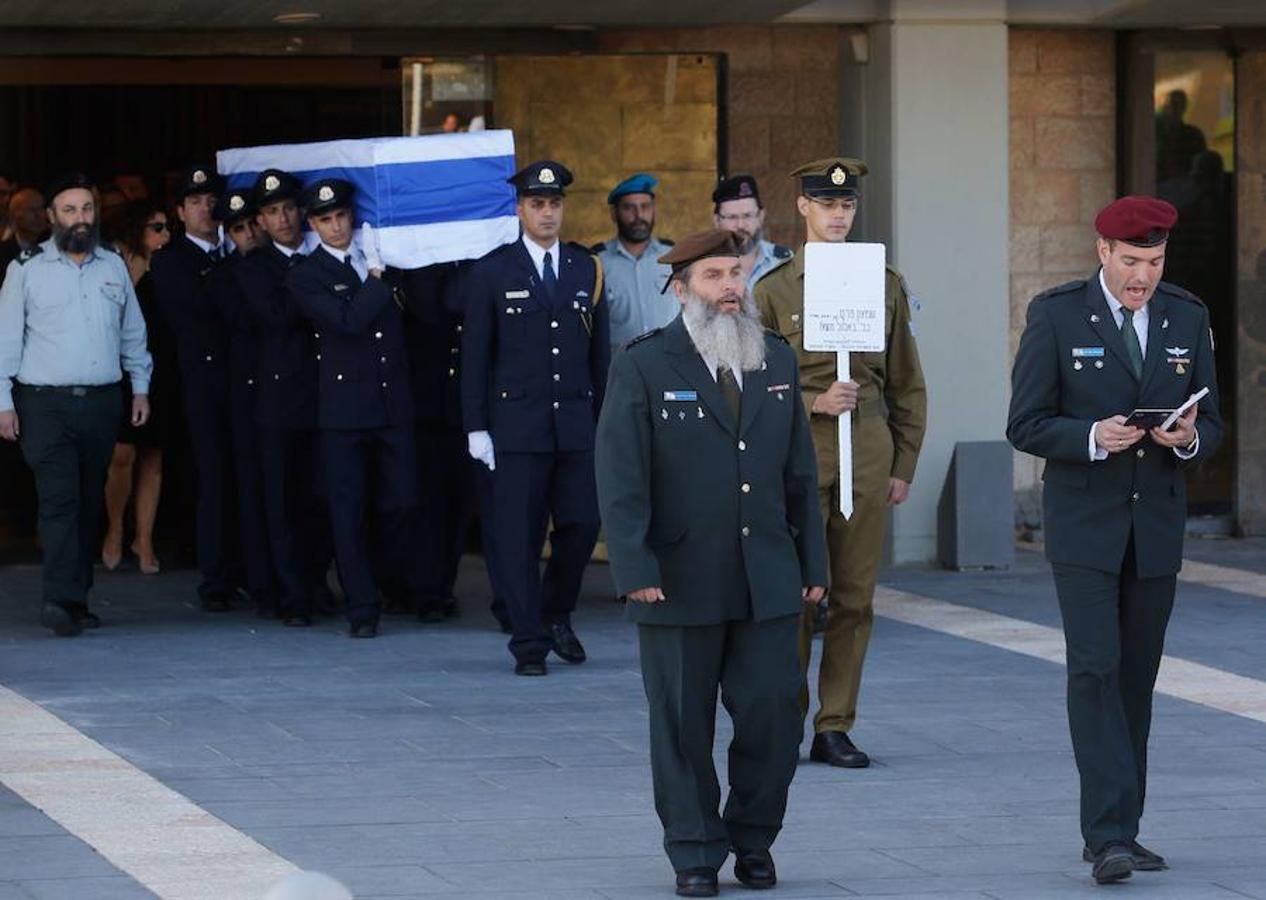 Las mejores imágenes del adiós a Simon Peres, el último de los fundadores de Israel