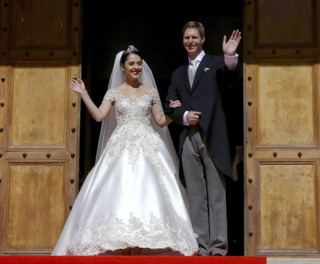 Los Príncipes Leka y Elia de Albania se dan el «sí, quiero»