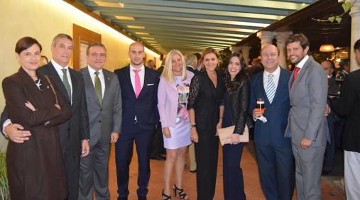 Jarones con presidentes de otros colegios de gestores de toda España