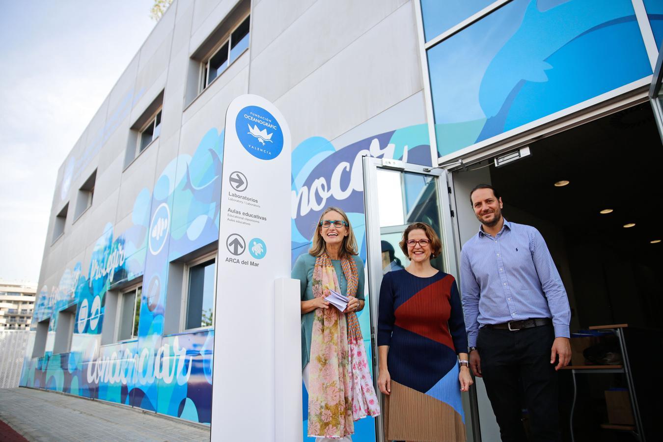 1. Inauguración de la Fundación Oceanogràfic