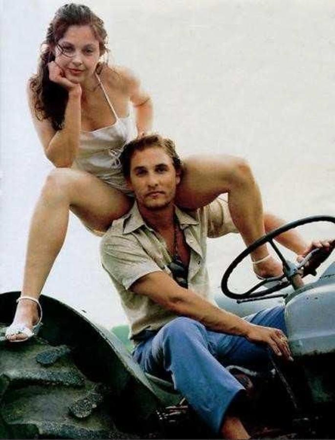 El actor y Ashley Judd tuvieron un corto romance en 1996