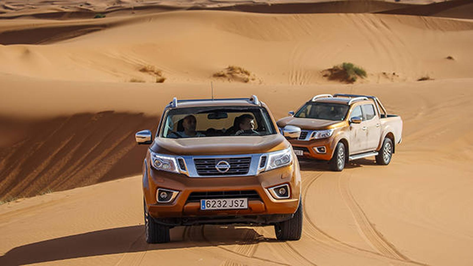 El Nissan Navara puede con el desierto