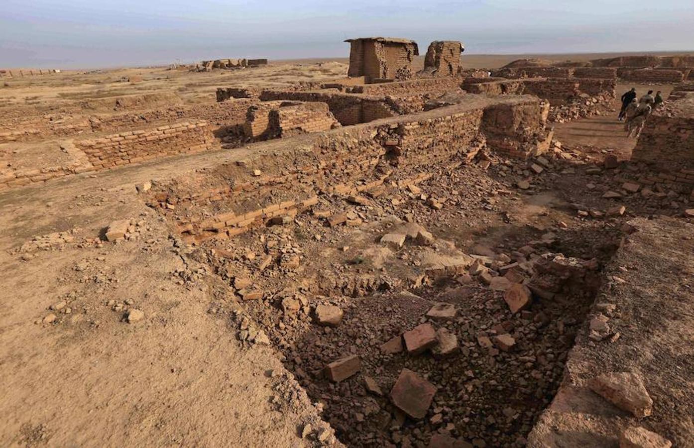 La antigua ciudad de Nimrud, destruida por Daesh