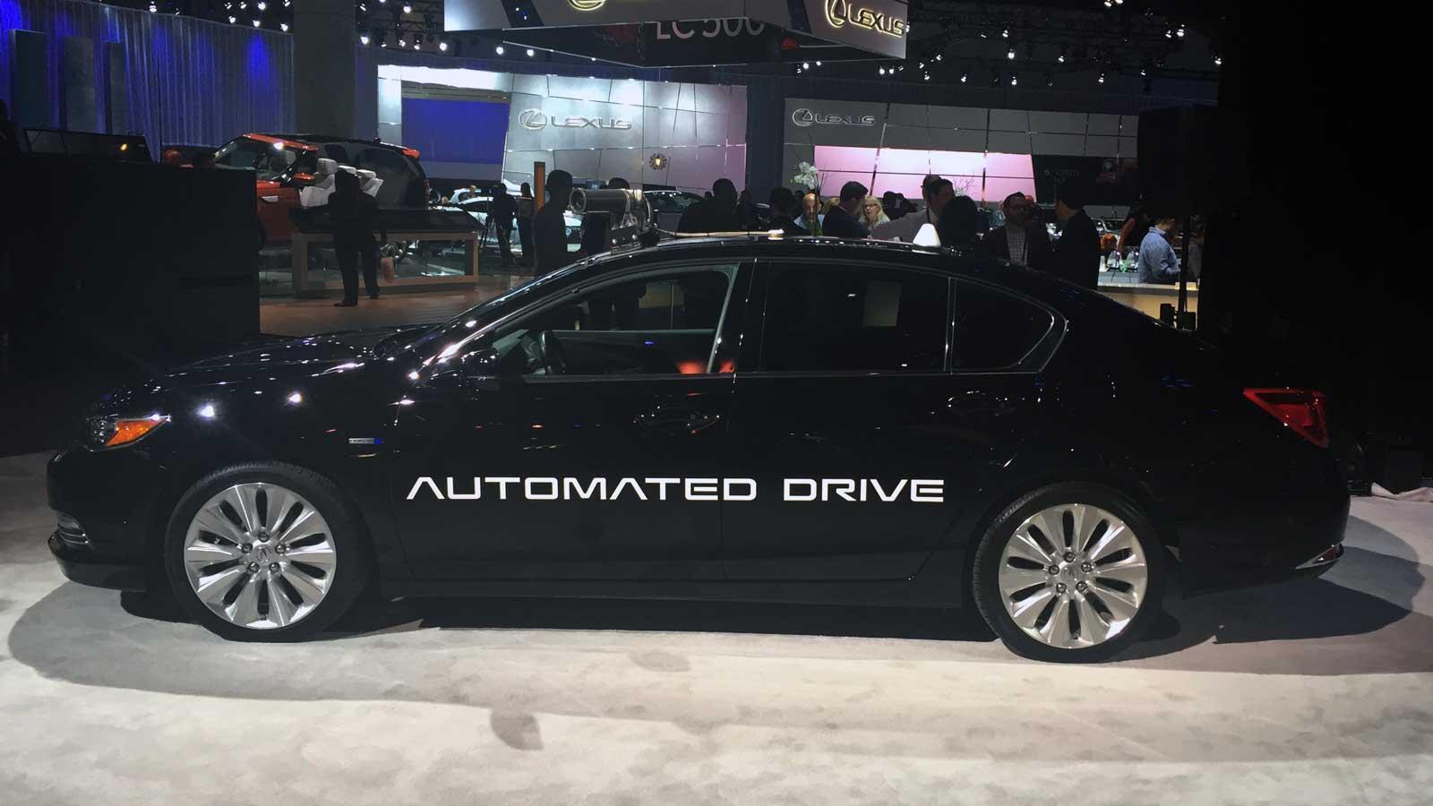 Acura, filial de lujo para Japón y Norteamérica de Honda, ya trabaja en la conducción autónoma