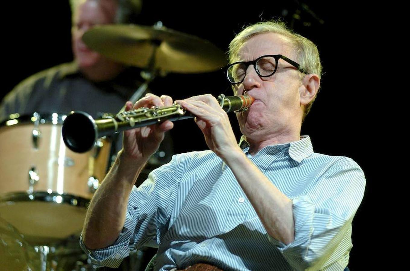 Woody Allen toca el clarinete