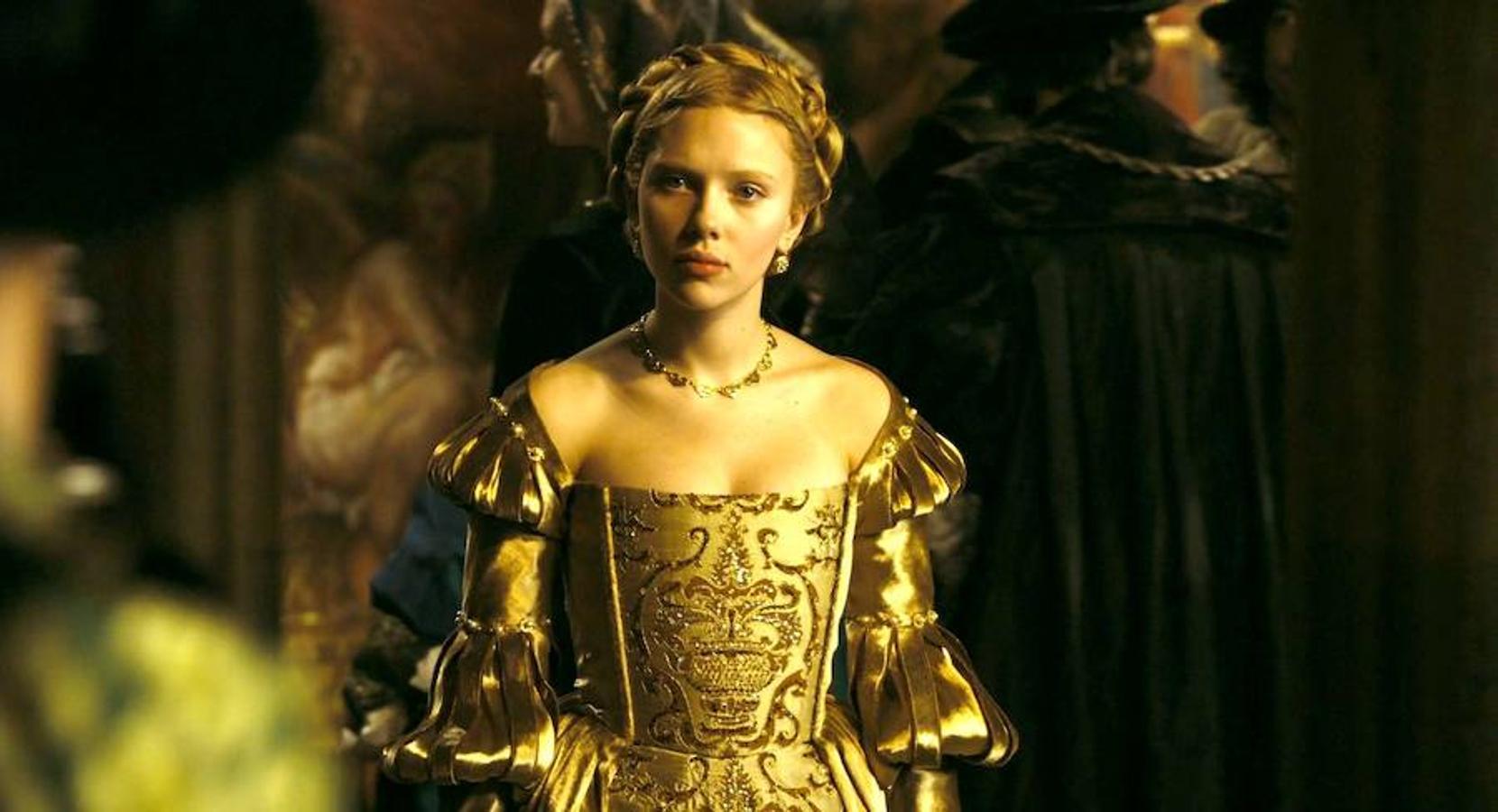 Scarlett Johansson interpretó a María bolena en «Las hermanas bolena»