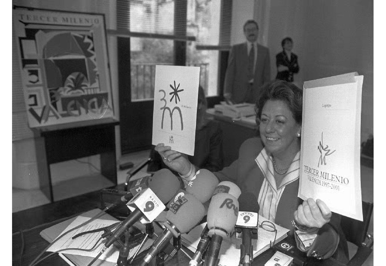 Rita Barberá presenta los Actos del Tercer Milenio