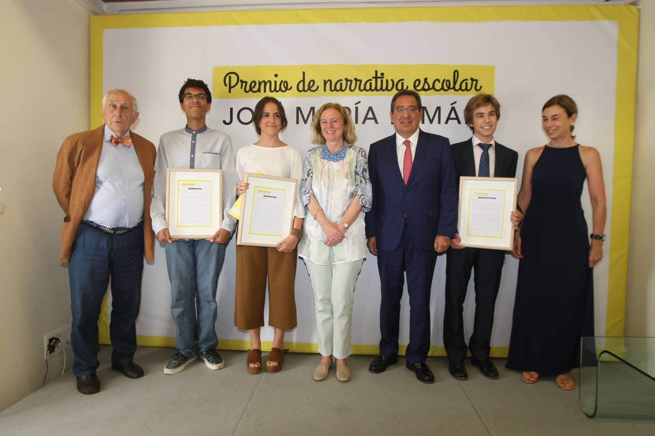 Inocencio Arias, José Andrés Rubio, Elena Sánchez, Catalina Luca de Tena, Antonio Pulido, Ricardo Aneiros y Carmen Posadas