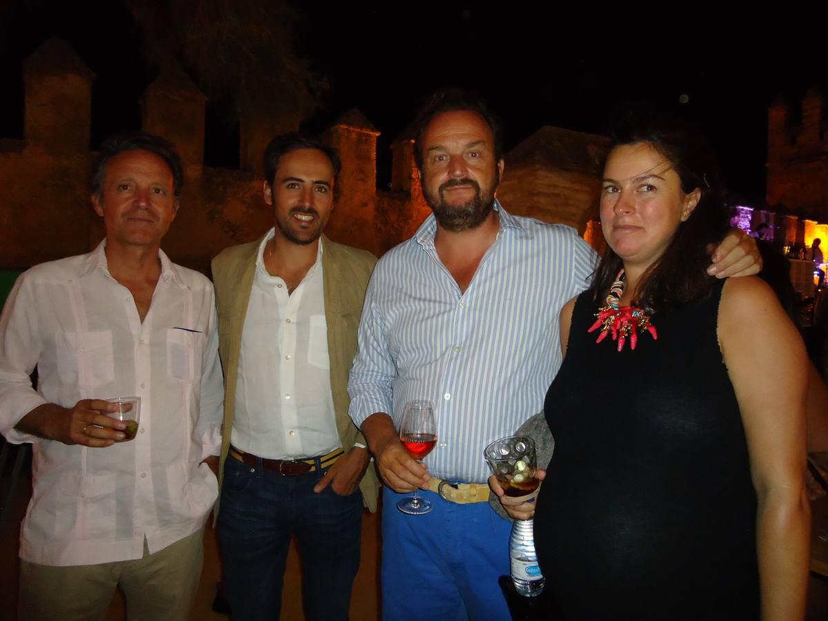 Lesmes González, Andrés Rebuelta, Bosco Torremocha y María del Río