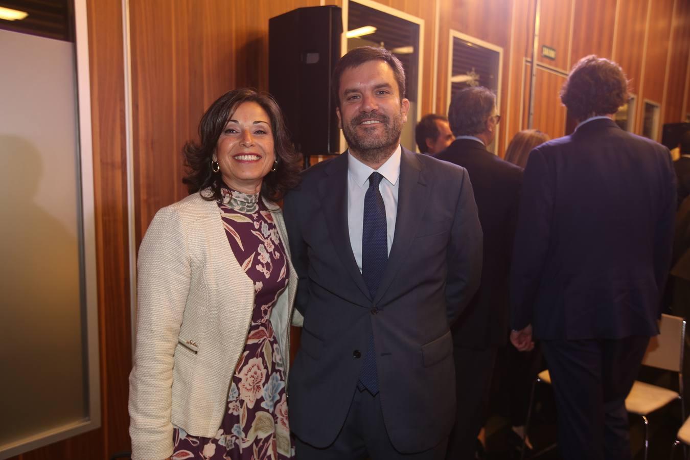 Maribel Peinado e Ignacio Moreno