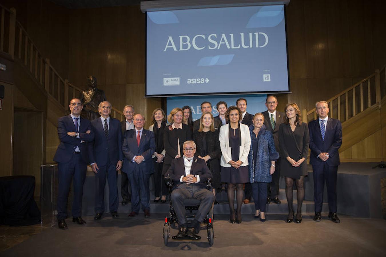 Gala de entrega de los VII Premios ABC Salud, en imágenes