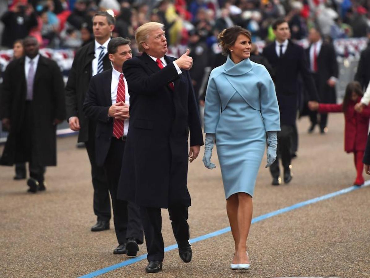 En la toma de posesión de Donald Trump, de Ralph Lauren