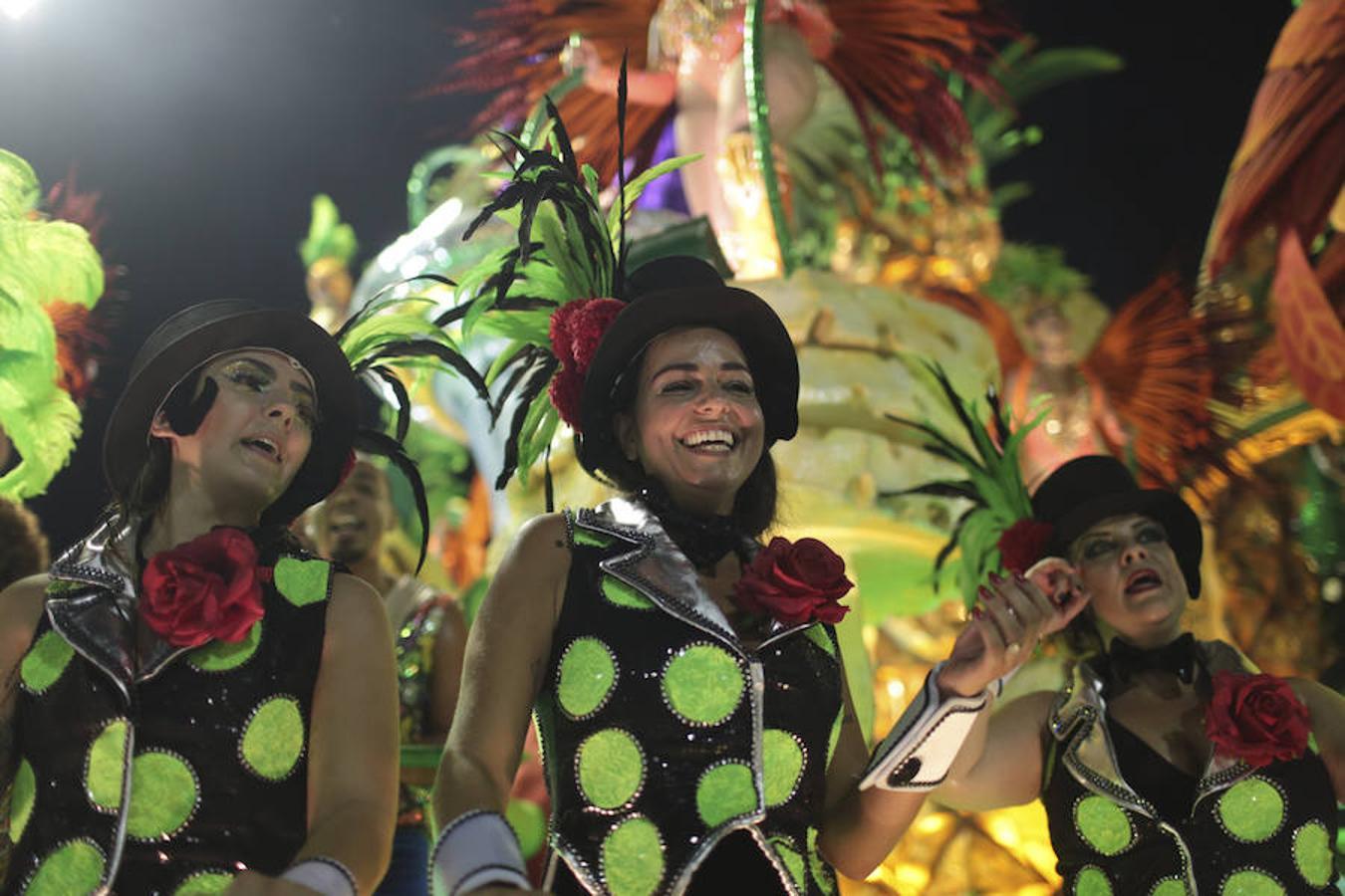 Celebración del carnaval en Río de Janeiro