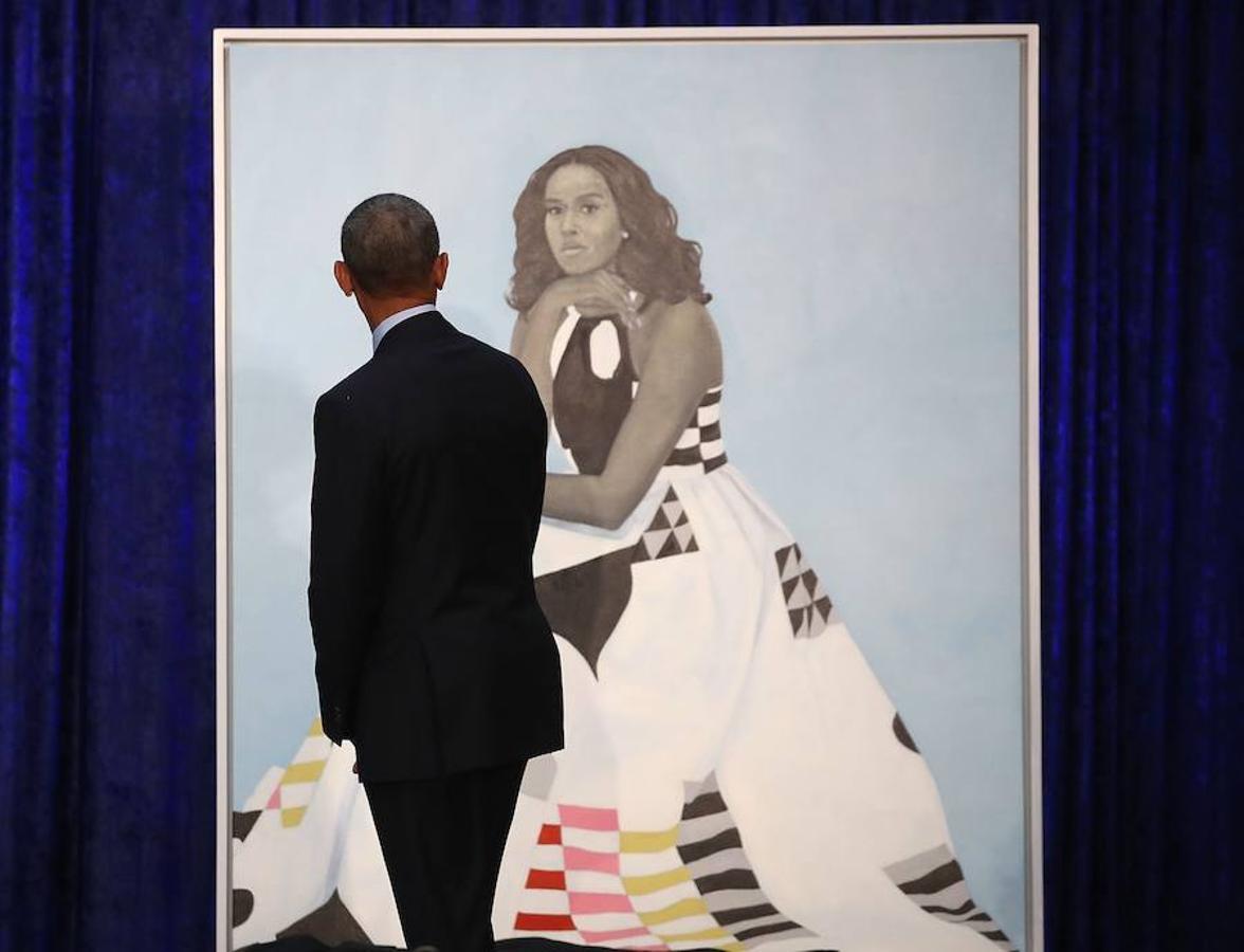 Los polémicos retratos de los Obama