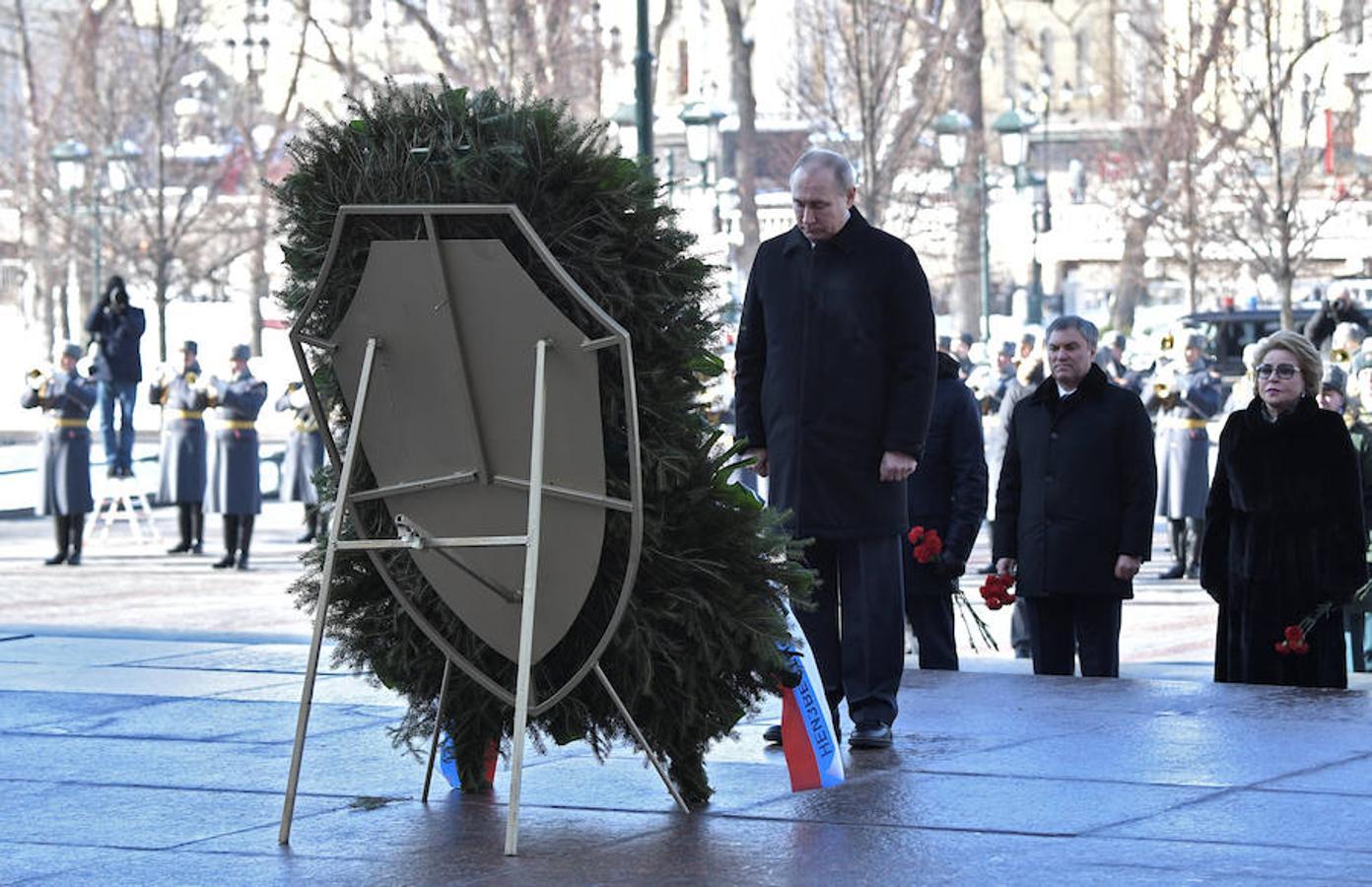 Rusia celebra la fiesta del Defensor de la Patria