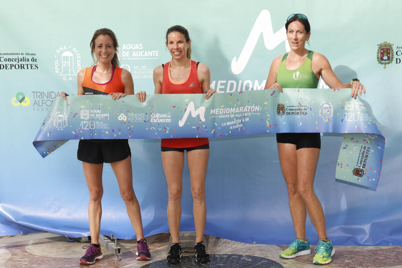 El Medio Maratón de Aguas de Alicante, en imágenes