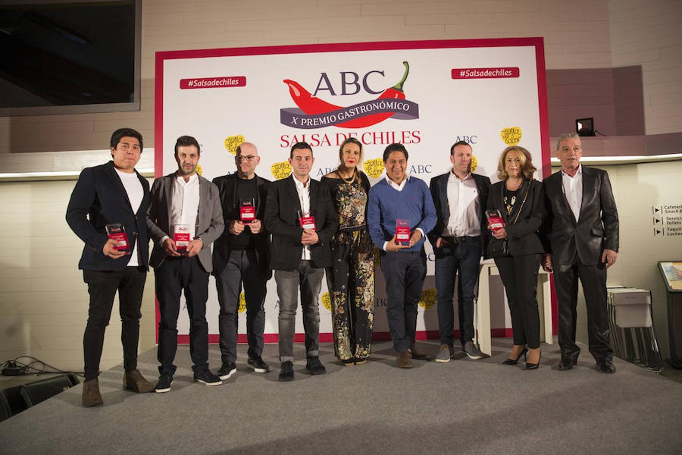Todos los premiados en los X Premios Salsa de Chiles