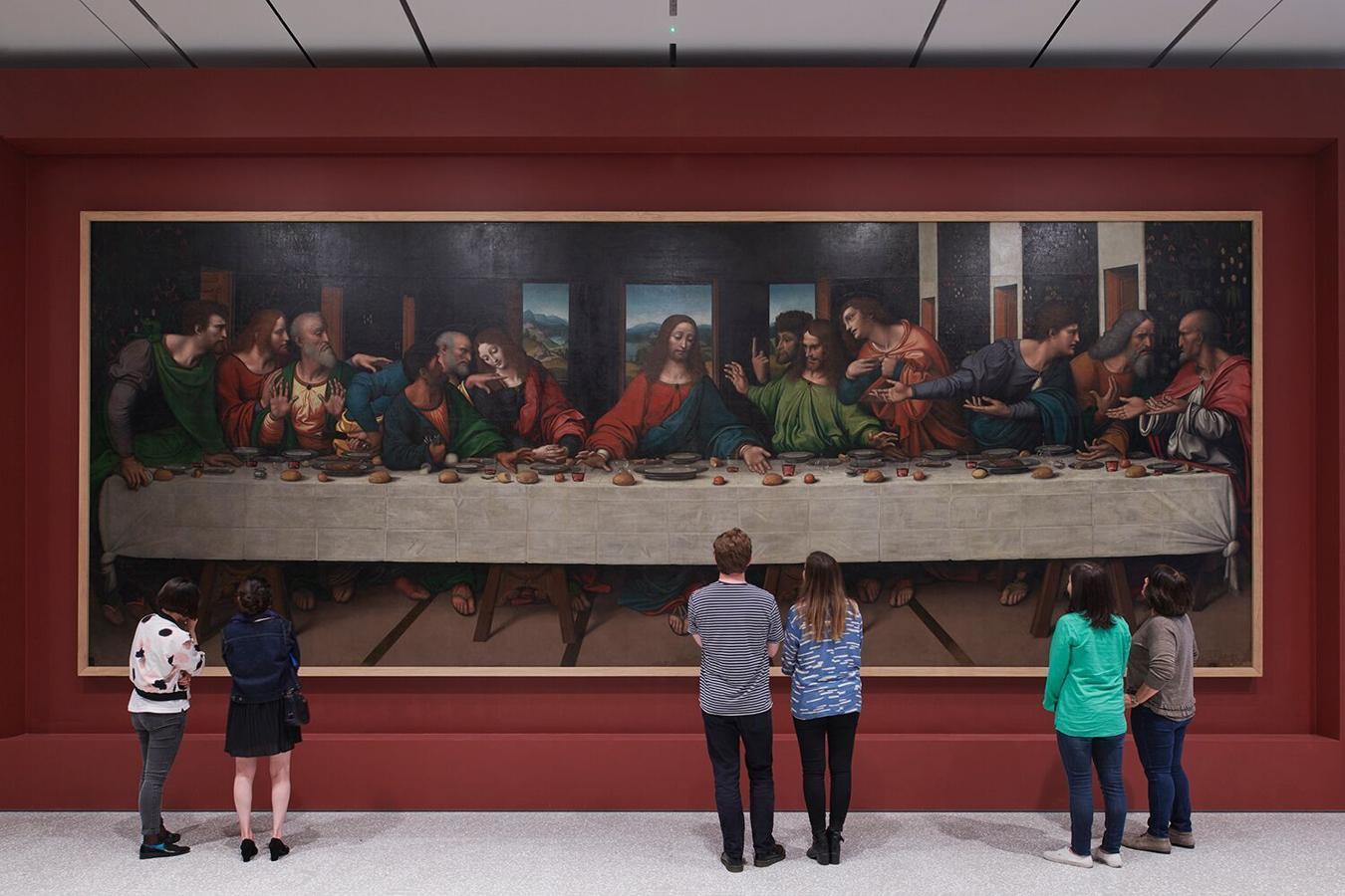Una copia de la Última Cena del S.XV en la Royal Academy of Arts en Londres