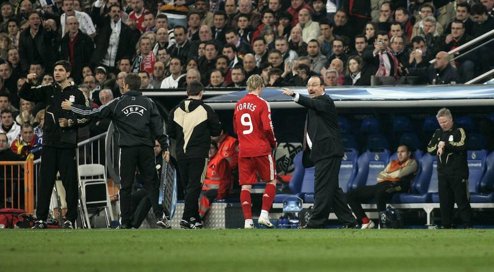 Rafa Benítez (Liverpool, Chelsea y Newcastle)