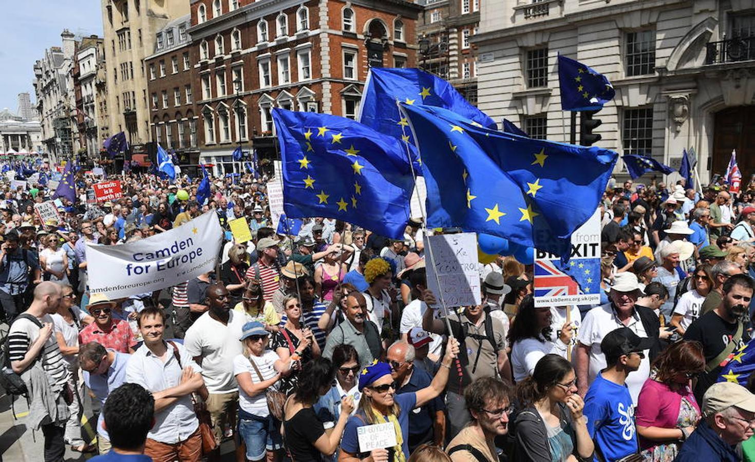 Manifestación anti-Brexit