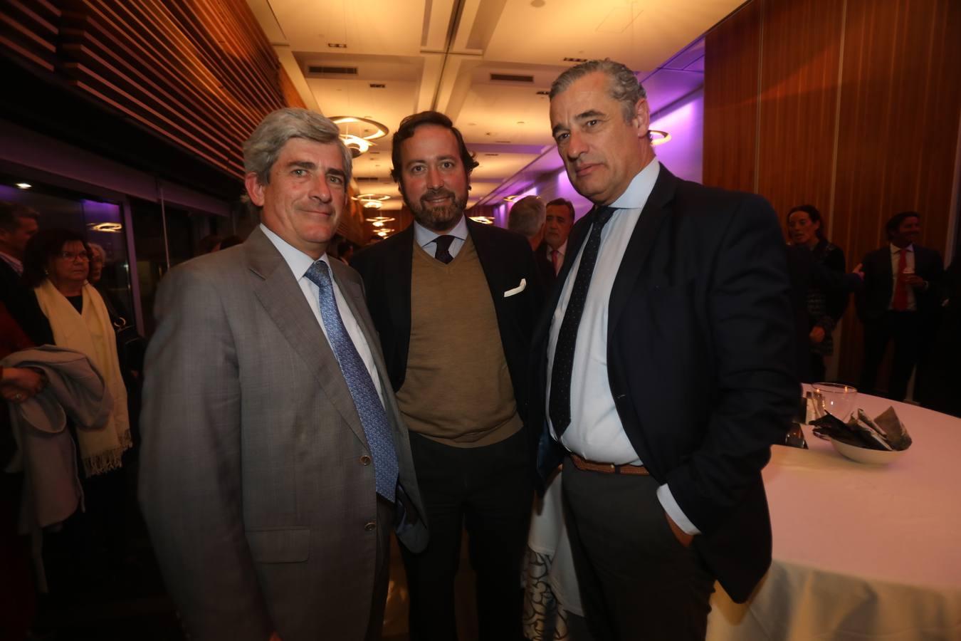 Ignacio Estrella, Luis Mora y José Román
