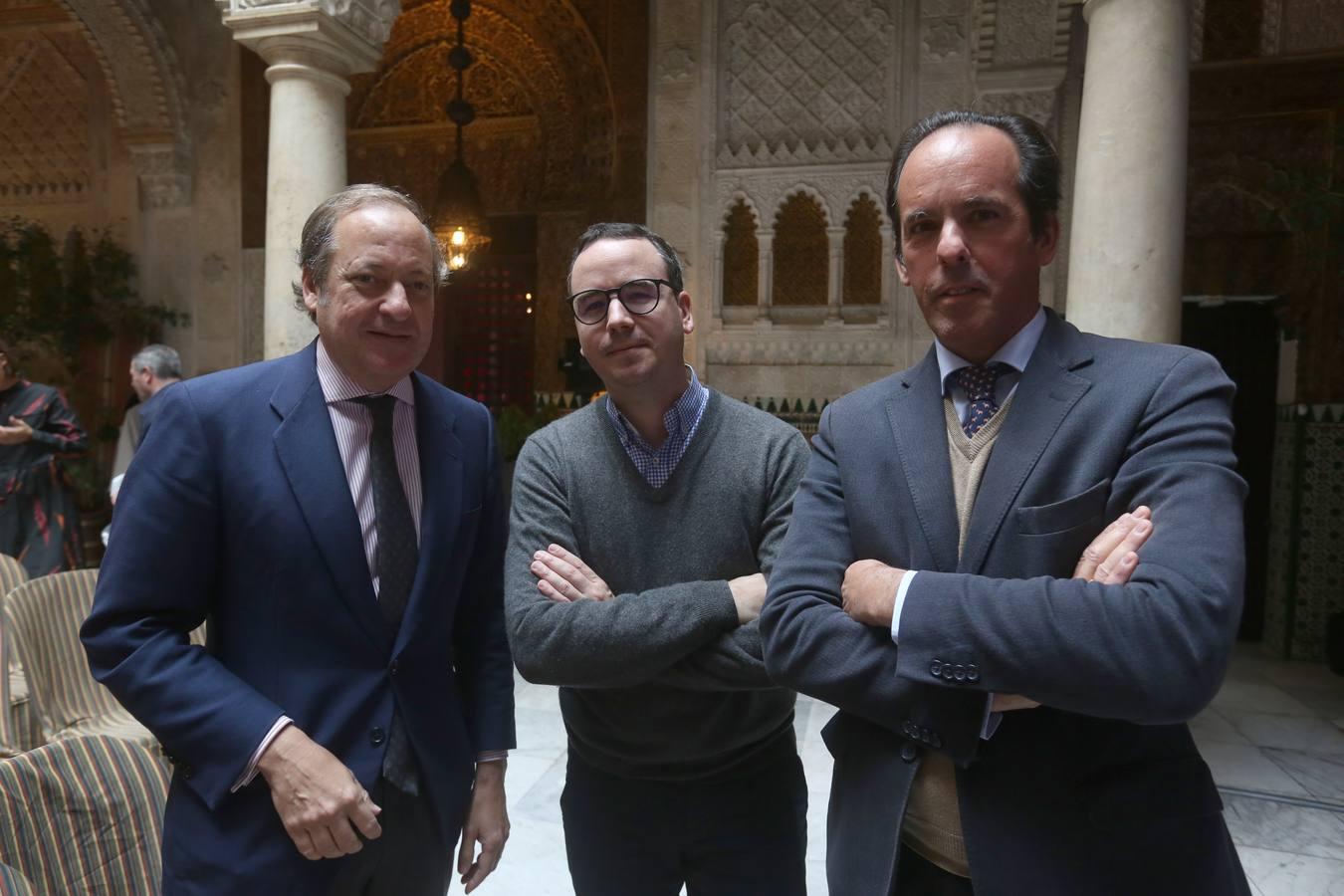 Álvaro Rodríguez, Paco Morales y José Argudo