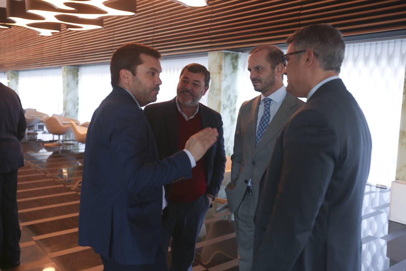 Ignacio Moreno Bustamante, Alfonso Candón, Fernando Moreno e Ignacio Romaní