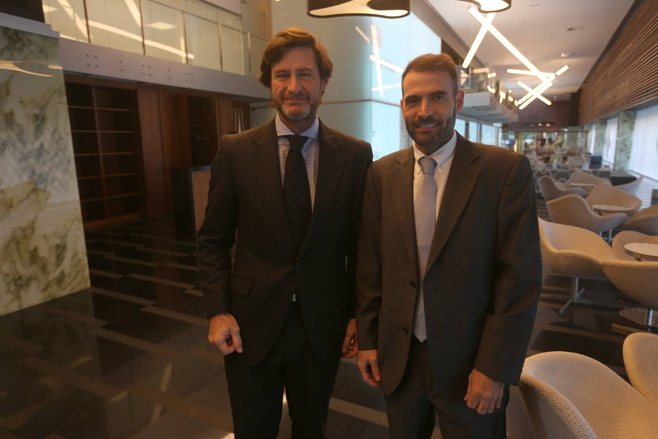 Guillermo Silóniz y Oliver Roldán