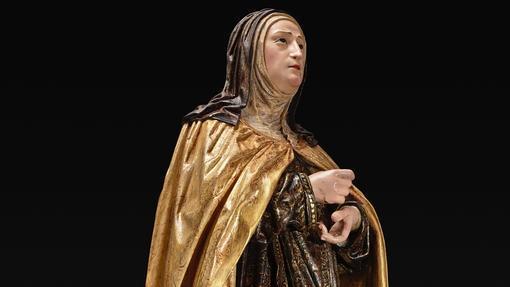 Imagen de Santa Teresa del convento sevillano