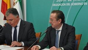 Emilio de Llera, (derecha)