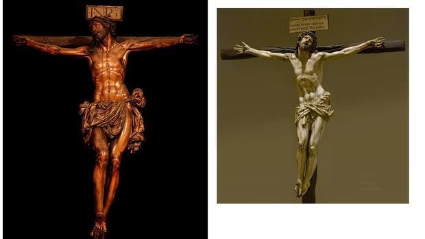 El Cristo de Vergara y el Crucifijo de marfil de Gaspar Núñez Delgado en Indianapolis