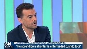 El coordinador general de Izquierda Unida en Andalucía, Antonio Maíllo, anuncia que tiene cáncer