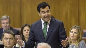 El líder del PP andaluz, Juanma Moreno