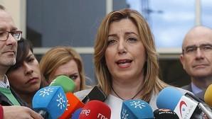 La presidenta de la Junta , Susana Díaz,