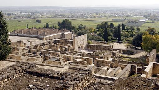 Vista del yacimiento de Medina Azahara