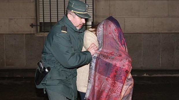 María José Lara, exdirectora general de Formación conducida al juzgado tras su detención