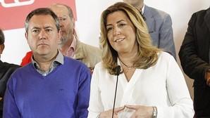 Susana Díaz, junto a Juan Espadas, en un acto en Granada