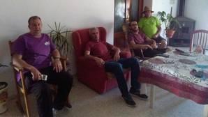 Diego Cañamero se instala en Somonte para seguir su huelga de hambre