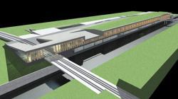 Infografía del recinto ferial diseñado para la zona de Levante