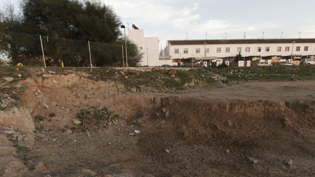 Zona contaminada poramianto